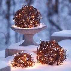 Globed Christmas Lights
