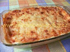 Cuketa jako lasagne – Maminčiny recepty Macaroni And Cheese, Pizza, Ethnic Recipes, Food, Lasagna, Mac And Cheese, Essen, Meals, Yemek