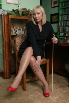 In praise of all the mature dominant women in the world with that natural air of authority that comes with age. If you own the copyright to any of these pictures and want them removed just let me know. Sexy Older Women, Sexy Women, Dame Helen, Female Supremacy, Dominatrix, Sexy High Heels, Mistress, Strong Women, Mature Fashion