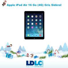 Grand jeu de Noël LDLC ! Vous avez voté pour : Apple iPad Air 16 Go (4G) Gris Sidéral http://www.ldlc.com/fiche/PB00157159.html