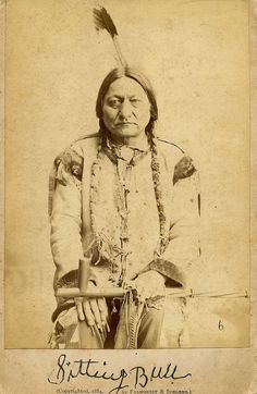 An important collection of Native American Images - including this portrait of the famous Sitting Bull - will be offered in the Photographica sale