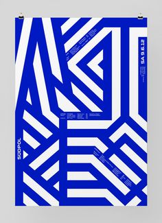 Image of the Day: Poster for Südpol a multi-purpose cultural center in Kriens, Switzerland. Design by Felix Pfäffli. Graphic Design Posters, Graphic Design Typography, Graphic Design Inspiration, Graphic Prints, Poster Prints, Buch Design, Design Art, Print Design, Typography Layout