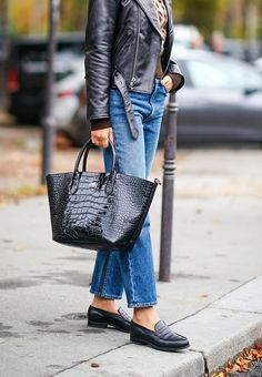 Update your closet this spring without breaking the bank with the 6 best 2020 spring trends under $100 — including loafers #purewow #spring #accessories #fashion #shopping #shoes #trends #clothing #style #loafers Spring Fashion Trends, Spring Trends, Spring Summer Fashion, Fall Fashion, French Fashion, Vintage Fashion, Best Leather Jackets, Lovers And Friends Dress, Fashion Tips For Girls