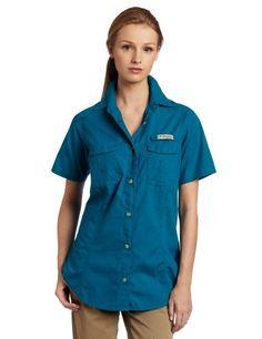 Columbia Women`s Bonehead Short Sleeve Fishing Shirt - Listing price: $45.00 Now: $29.69