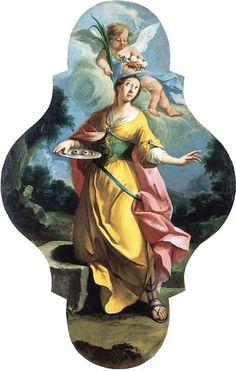S. Lucia Martire, 1741, olio su tela, Lubjana, Narodna Galerija