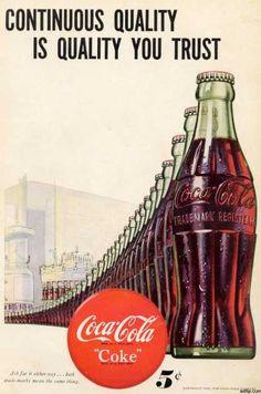 """1. Ley del liderazgo: """"Es mejor ser el primero que ser el mejor"""" La empresa Coca-Cola en 1886, comenzó su venta en un vaso de Coca-Cola por 5 céntimos en la farmacia Jacobs de Atlanta, primer establecimiento que comercializó el famoso refresco."""