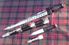 Scottish Dirk And Sgian Dubh