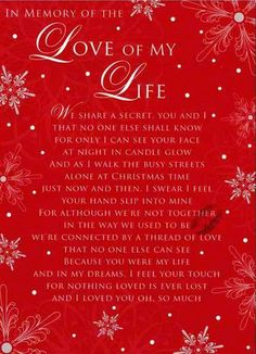 Missing my Husband at Xmas Christmas In Heaven, Christmas Poems, Christmas Love, Xmas, You Are My Life, Love Of My Life, Are You Happy, Death Quotes Grieving, Missing My Husband