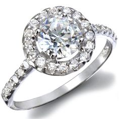 amillas round shape cubic zirconia engagement ring only 4395 fantasy jewelry box