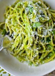pesto and avocado pasta