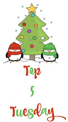 Top 5 Tuesday — Top 5 Christmas Cookies TUESDAY, DECEMBER 20, 2016 www.cynthiascolorfulmess.com