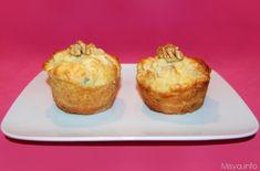 Muffin pere e gorgonzola