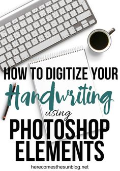Digitize your handwriting LIKE A BOSS with this easy tutorial!