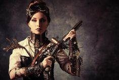 I'm more inclined to cyberpunk, but I love the visual aesthetics of steampunk. I want to explore steampunk more.