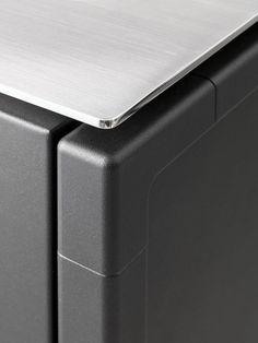 Modular Stainless Steel Kitchen From Vipp Kitchen Appliances Design Kitchen Designs Layout Kitchen Furniture Design