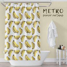shower curtain waterproof yellow//mustard grey geometric print bathroom new  gift