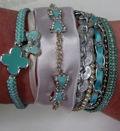 piCture pOlish 'Tiffany' inspired arm cuff so totaly gorgeous!