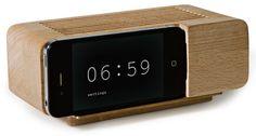 Alarm Dock Jason Damon verandert iPhone in stijlvolle wekkerradio   Gadgetzone.nl