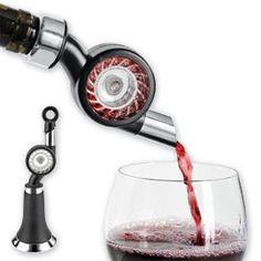 Vinaerator, Wine Aerator and Bottle Stopper, Aerator   Solutions Beso de Vino