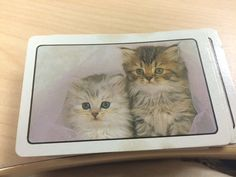 Kitty Playing Cards by LittleDrawer on Etsy