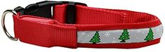 Christmas Holiday LED nylon pet dog collars and leashes Light up the streets this year with this HOLIDAY LED collar! Once the tab is pulled, the button Read  more http://dogpoundspot.com/christmas-holiday-led-nylon-pet-dog-collars-and-leashes/  Visit http://dogpoundspot.com for more dog review products