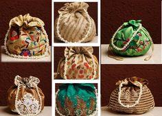 Embellished #Potli #Bag By #Tarusa
