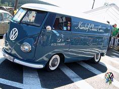 Bus Camper, Volkswagen Bus, Vw T1, Campers, Pick Up, Combi Vw, Blue Vans, Der Bus, Retro
