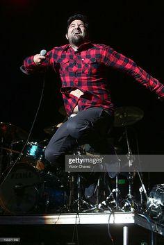 Singer Chino Moreno of the Deftones performs live during the Maquinaria Festival day 2 at Arena Ciudad de México on November 2, 2012 in Mexico City, Mexico.