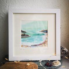 Irish Jewelry, Ocean Art, Sea Glass Jewelry, Contemporary Art, Mixed Media, Studio, Artist, Painting, Inspiration