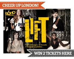 LIFT the musical @Soho Theatre - win 2 tickets here!