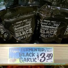 Trader Joe's Aomori Black Garlic  1.76oz  $3.49 トレーダージョーズ 青森 黒ニンニク
