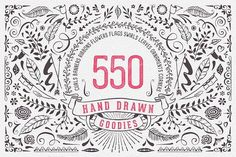 Hand Drawn Goodies by Swedish Points on @creativemarket
