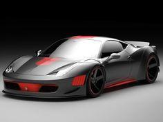 Gray Design Unveils Ferrari F458 Curseive #cars #ferrari
