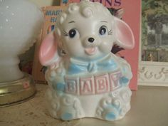 Reserved for Vintage777.  Vintage Baby Planter Baby by GrannysCup, $9.00