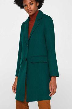 Esprit Jacka med återvunnen ull i Esprits Online Shop