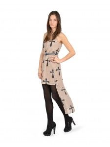 Slip on this high-low dress and show off a little leg!