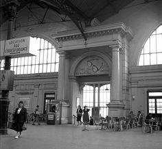 Ancienne gare montparnasse paris 1850 1900 pinterest for Interieur 1960