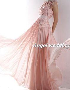 Custom Wedding Dress Vintage Lace Wedding Dress Bridal Gown Vintage Gown Bridesmaid Dress Evening Prom Dress. $268.00, via Etsy.