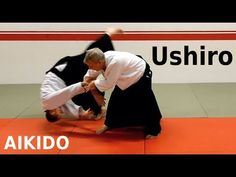 Aikido techniques on USHIRO, grips from behind, by Stefan Stenudd, 7 dan Aikikai shihan - YouTube