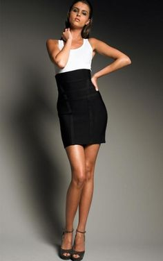 Black xxs Herve Leger Skirt- New with Tags $72!!