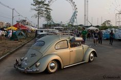 Oval Beetle with swamp cooler http://www.classiccult.com/blog/siam-vw-festival-2014.html