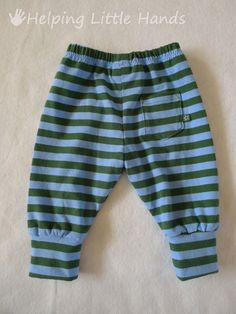 Pieces by Polly: Comfy Newborn Cuffed Pants - Free Printable Pattern -- definitely could upsize these