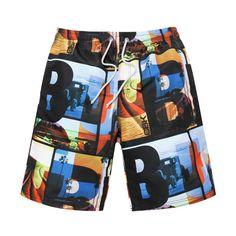 Brand Quick dry Men Beach Shorts Swimwear Boardshorts Jogger Bermudas