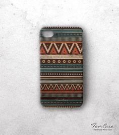 Tribal iphone 4 case  iPhone 4s case handmade iphone by TonCase, $24.99