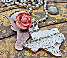Texas NEcklace by HarleyandMaudes on Etsy