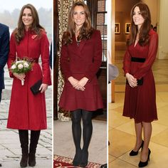 Kate Middleton Has a Color Crush on Burgundy — Shop Her Look