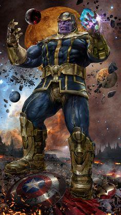 Thanos the Mad God v2.0 by uncannyknack.deviantart.com on @DeviantArt