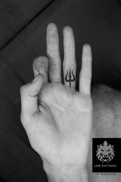 #trident #trishul #shiva #element #tattoo #leotattoos #matunga #Mumbai #India
