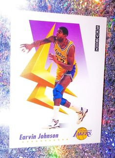 Magic Johnson 1991-92 Skybox Promo Card  137 Los Angeles Lakers HOF MINT  ✨🏀✨  LosAngelesLakers ba32b5d42