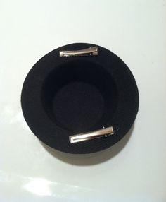 "5"" Mini Top Hat Facinator Base - 4 Colors. $5.00, via Etsy."
